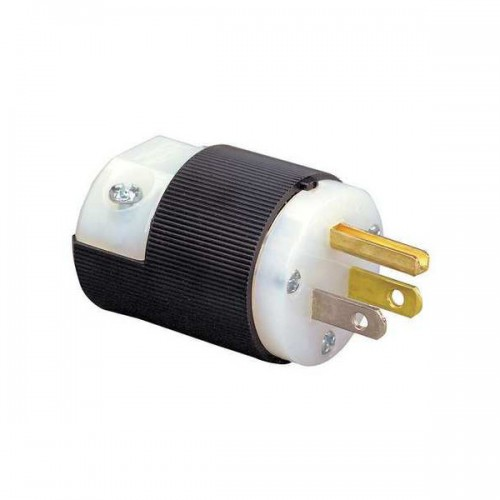 Edison Male 15 Amp PVG Plug